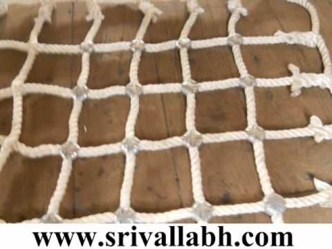Construction Safety Nets, Cargo Nets Manufacturer in India