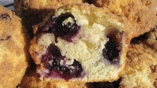 How To Make Blueberry Streusel Muffins - Homemade Blueberry Streusel Muffin Recipe