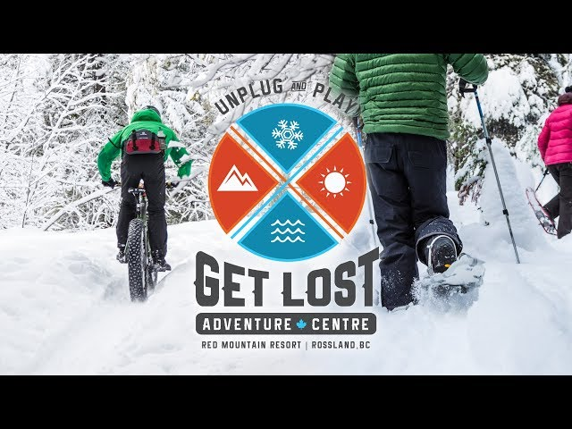Snowshoe and Fat Bike Tours with GET LOST Adventure Centre