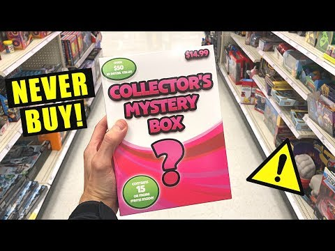 *SERIOUSLY DO NOT BUY THIS* Opening NEW Collector's Mystery Box AT TARGET STORE! (Pokemon Cards)