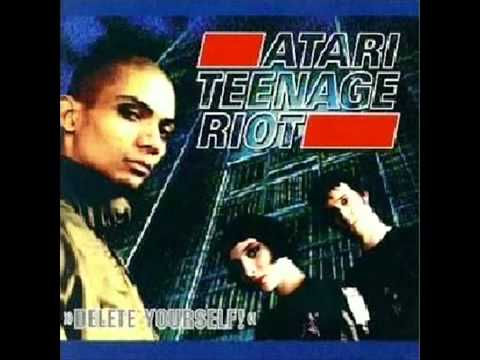Atari teenage riot delete yourself you got no chance to win live