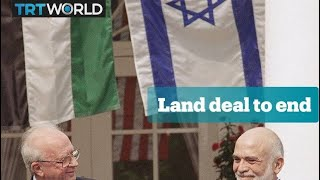 Jordan won't renew peace treaty land deal with Israel