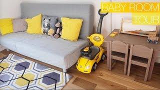Детская для малыша от года до двух :Baby Room Tour