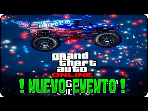 !! NUEVO EVENTO DIA INDEPENDENCIA !! GTA 5 Online DINERO y RP DOBLE - Camisetas, Liberator GTA V
