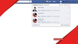 اضافة لحفظ منشورات الفيس بوك علي جوجل كروم - عرفني دوت كوم