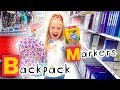 6 Year Old Everleigh Goes School Shopping In Alphabetical Order!!! - Challenge