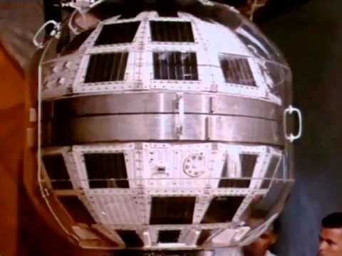 Early Communications Satellite: Telstar - circa July 1962 - CharlieDeanArchives / Archival Footage