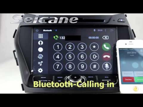 Seicane-Newest 2013 2014 Hyundai Santa Fe ix45 Pure Android 5.1 DVD GPS bluetooth with radio WIFI