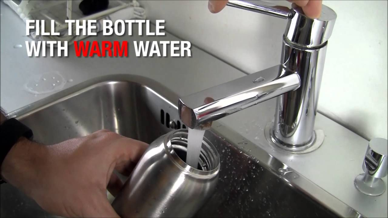 Cleaning Your Sigg Bottle Sigg Hot Cold Youtube