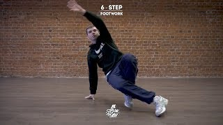 "20. 6-Step (Footwork) | Видео уроки брейк данс от ""Своих Людей"""