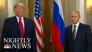 Russian TV Praises Vladimir Putin After President Donald Trump Meeting | NBC Nightly News