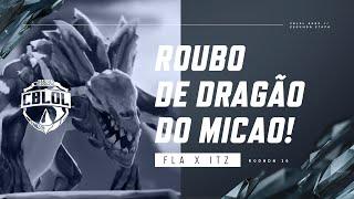 CBLoL 2020: 2ª Etapa - FLA x ITZ   micaO rouba o Dragão do Flamengo Esports