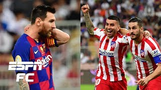 Barcelona 2-3 Atletico Madrid: Lionel Messi denied the Supercopa | Spanish Supercup Highlights