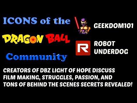Dragon Ball Z Light of Hope Robot Underdog Interview