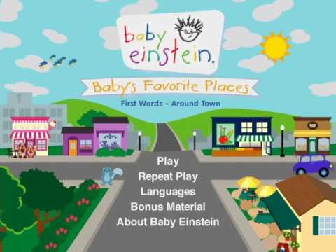 Baby S Favorite Places Dvd Menu Youtube