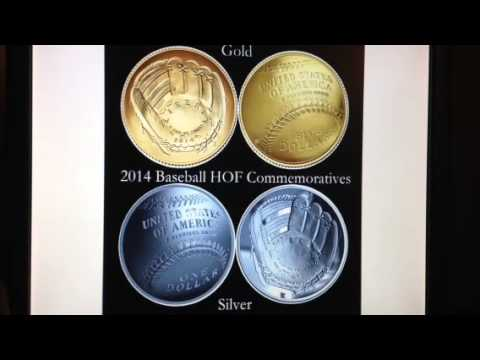 The Hottest Selling U.S. Mint Coin - 2014 Baseball Hall Of Fame Gold & Silver Commemoratives - BRSH