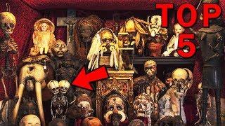 TOP 5 nejděsivějších a nejbizarnějších muzeí světa