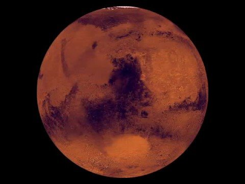 Mars Surface Rotation - YouTube