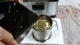 스텐 오일 포트 2L 키친아트 가정용 튀김기 세트 기름…