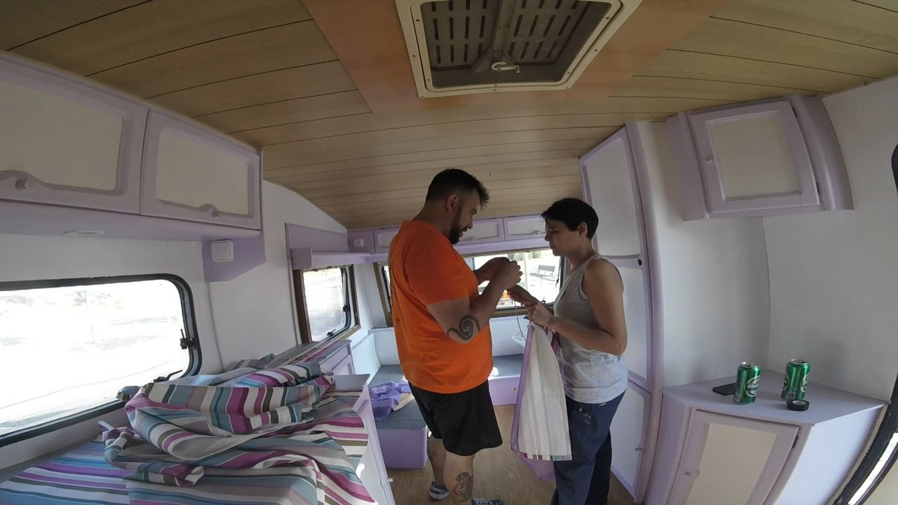 Reforma de caravana catusa canada youtube - Interior caravana ...