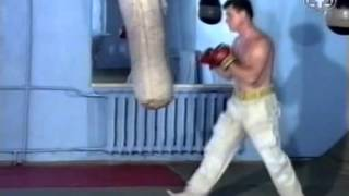 ч4-3 #Отработка #ударов перед зеркалом и на мешке #Рукопашный бой обучение
