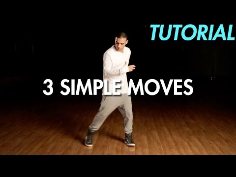 3 Simple Dance Moves for Beginners (Hip Hop Dance Moves Tuto