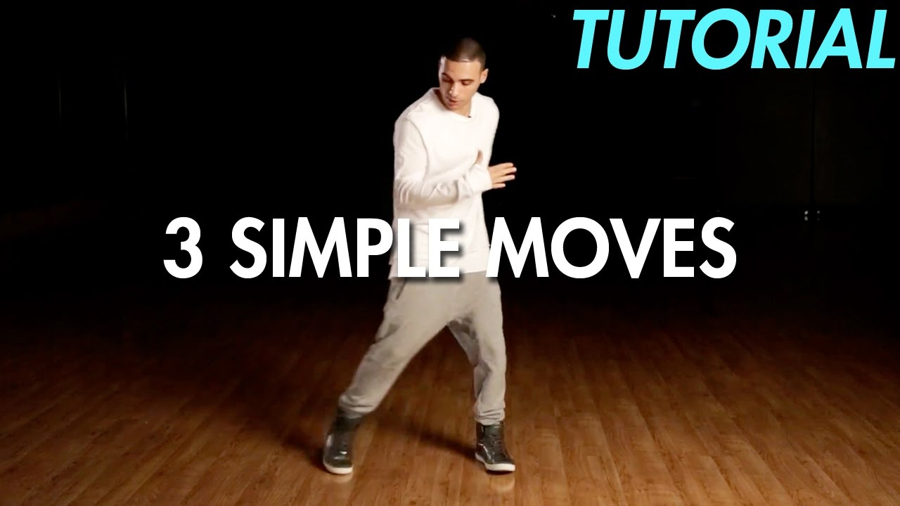 3 simple dance moves for beginners hip hop dance moves tutorial mihran kirakosian youtube