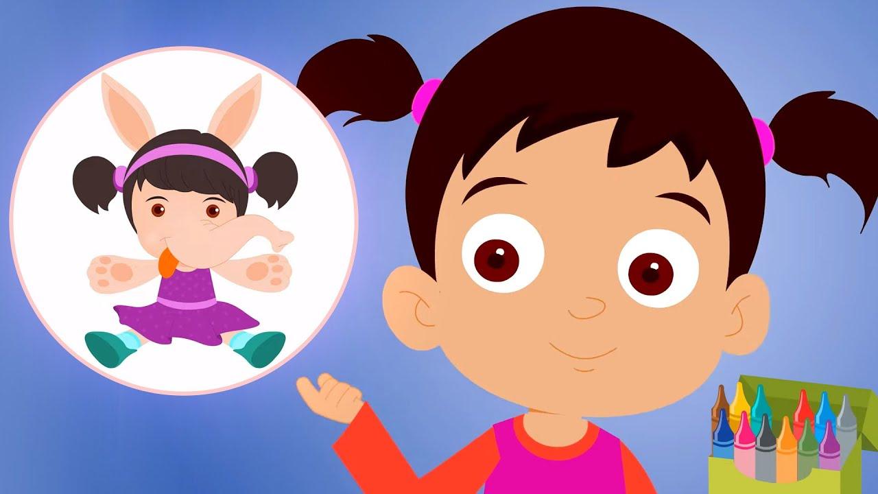 Kagaz Ki Gudiya   Hindi Nursery Rhymes   Balgeet for Children - Kids Rhymes