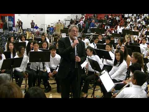 "Thornton Junior High School Symphonic Band: ""Der Lehrmeister"" & ""Ruckus"""