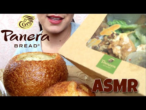 ASMR Panera Bread (Whispering) | Eating Show