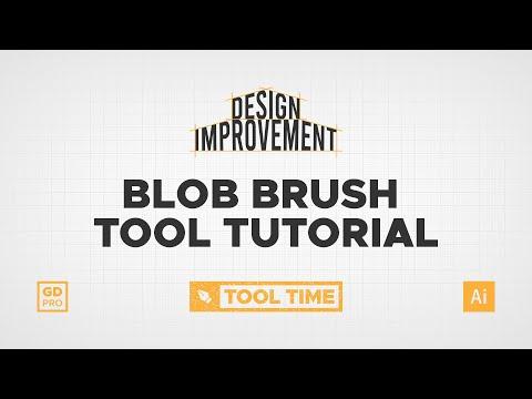 How The Blob Brush Tool Works • Adobe Illustrator Tutorial