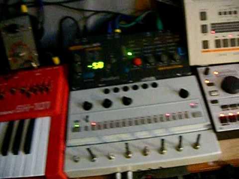 Old School Roland Techno Jam Tr606-GT 101 707
