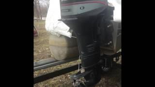 Changer huile pied moteur bateau