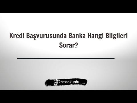 Kredi Başvurumda Banka Neleri Soracak?