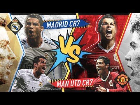 Cristiano Ronaldo's Man United VS Cristiano Ronaldo's Real Madrid - FIFA 19 Experiment