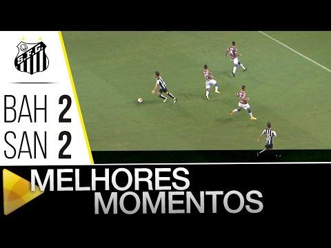 Bahia 2 x 2 Santos | MELHORES MOMENTOS | Amistoso (23/01/16)