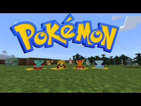 NEW Minecraft Pokemon Mod Download (BlockMon)