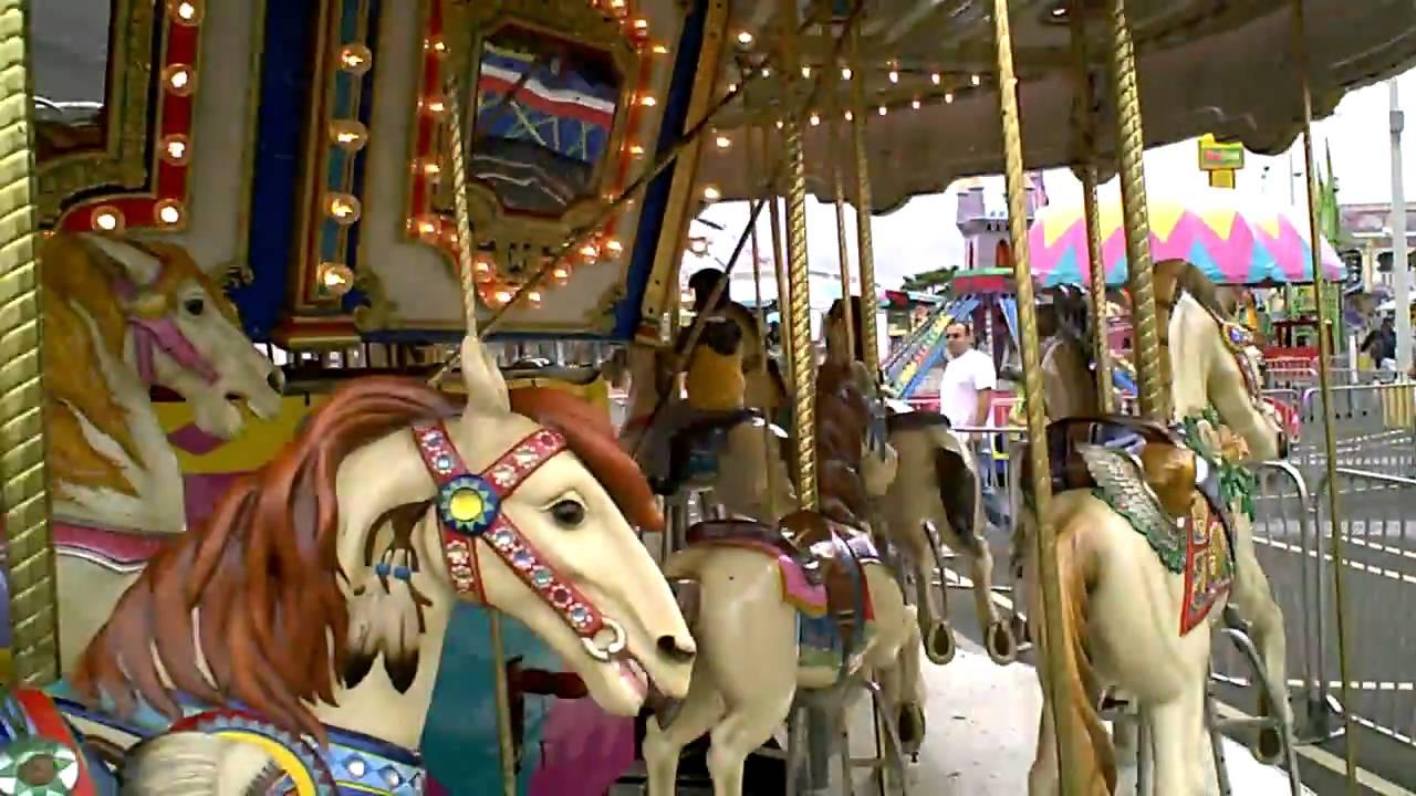 patrick carnival ride 1 carousel youtube