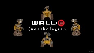 Wall-E Flattened Hologram - Flat Version 60fps 1080p