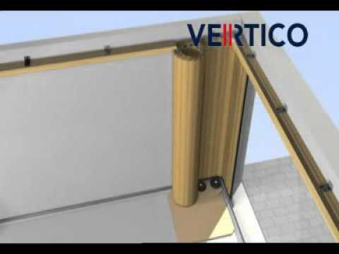 Sws Vertico Round The Corner Garage Door Installation Youtube