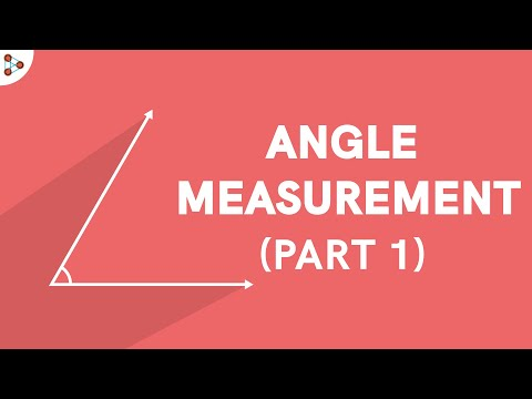 Angle and its Measurement – Part 1 CBSE 11