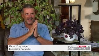 Oskar Freysinger: Nach der Polit-Laufbahn die Schriftstellerei?