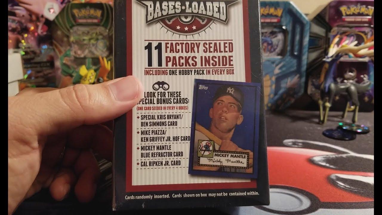 Baseball Mystery Box From Walmart
