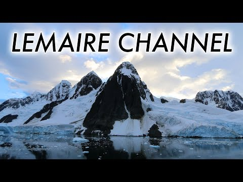 Lemaire Channel and Port Charcot (timelapse)