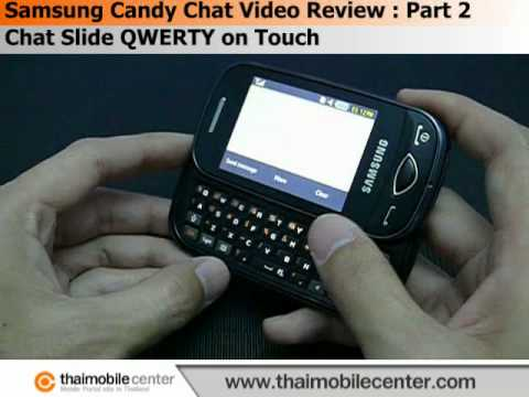 Samsung Candy Chat B3410 Video Review : Part 2