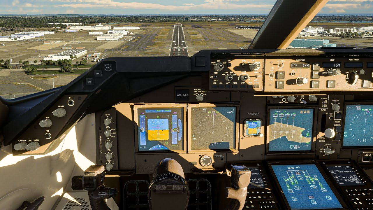 Microsoft Flight Simulator 2020  Realistic 15 HOUR 7478F Full Flight to NEW YORK in 4K