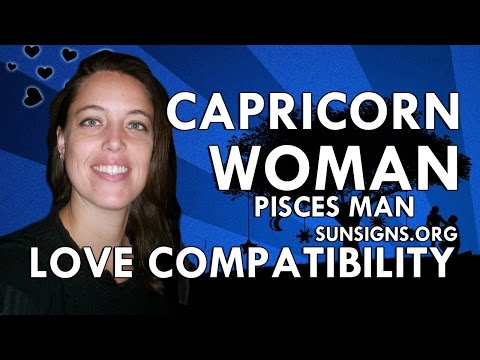 dating a pisces man capricorn woman