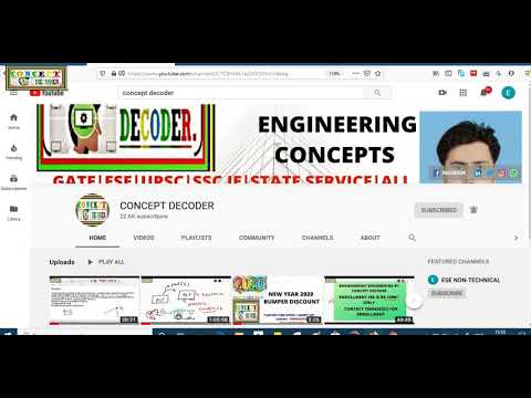 How To Watch Private Lecture By Concept Decoder| How To Sign In And Watch Videos| Concept Decoder