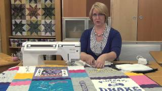 Machine Minute: Secrets to Sewing T-Shirt Quilts