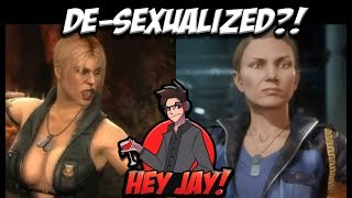 Is the Mortal Kombat 11 Female Censorship (de-sexualization) Justified? | Hey Jay News!